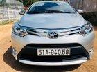 Bán Toyota Vios 1.5G AT đời 2014, màu bạc