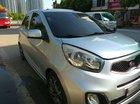 Cần bán lại xe Kia Morning AT 2014, màu bạc, xe nhập