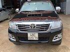 Bán Toyota Hilux 3.0G 4x4 MT sản xuất năm 2014, màu đen, nhập khẩu