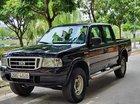 Bán Ford Ranger XL 4x4 MT đời 2004, màu đen như mới, giá 160tr