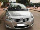 Cần bán gấp Toyota Vios 1.5E đời 2012, màu bạc xe gia đình, giá tốt