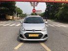 Bán Hyundai Grand i10 1.2MT năm sản xuất 2015, màu bạc, xe nhập. 1 chủ đăng ký lăn bánh tháng 10/2016