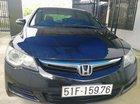 Bán Honda Civic 1.8 AT đời 2007, màu đen, nhập khẩu