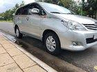 Bán Toyota Innova 2.0G 2011, màu bạc, chính chủ