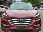 Cần bán xe Hyundai Santa Fe đời 2017, màu đỏ