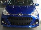 Hyundai Grand i10 1.2 AT mới 2019, màu xanh, xe sẵn giao ngay