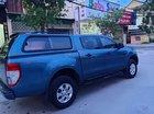 Cần bán lại xe Ford Ranger đời 2013, màu xanh lam, xe nhập số sàn, giá 408tr