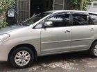 Cần bán gấp Toyota Innova G năm sản xuất 2010, màu bạc chính chủ