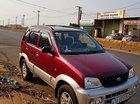 Cần bán lại xe Daihatsu Terios 1.3 4x4 MT đời 2003, màu đỏ