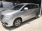 Bán Toyota Innova 2.0E màu bạc, số sàn, sản xuất 2015, gốc Sài Gòn xe đẹp