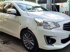 Cần bán Mitsubishi Attrage CVT sản xuất năm 2017, màu trắng