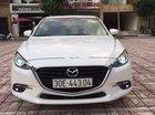 Bán Mazda 3 1.5AT đời 2017, màu trắng, máy êm ru