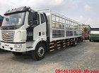 Bán FAW 7T2 xe tải thùng 9M6, đời 2019, màu trắng, xe nhập
