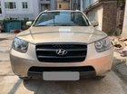 Bán Hyundai Santa Fe 2008 tự động, xăng, vàng cát, xe đi kỹ