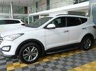 Bán ô tô Hyundai Santa Fe 2.4AT 2WD 7 chỗ đời 2015, màu trắng