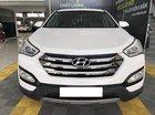 Bán xe Hyundai SantaFe 2WD 2.4AT, màu trắng, đời 2014, xuất được hóa đơn