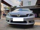 Cần bán gấp Honda Civic 2.0AT đời 2013, màu bạc