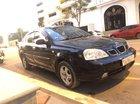 Cần bán lại xe Daewoo Lacetti năm sản xuất 2007, màu đen số sàn, 158tr