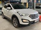 Bán Hyundai SantaFe 4WD 2.4AT máy xăng, số tự động, sản xuất 2015, biển Sài Gòn