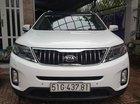 Bán Kia New Sorento DATH 2.2AT màu trắng, máy dầu, số tự động, sản xuất 2017, biển Sài Gòn mẫu mới
