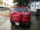 Cần bán Ford EcoSport Titanium đời 2017, màu đỏ còn mới