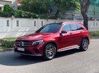 Bán Mercedes GLC 300 sản xuất 2016, màu đỏ, xe đẹp còn thơm mùi mới, cam kết chất lượng bao kiểm tra hãng