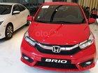 Bán Honda Brio 2019, xe mới giao ngay, trả trước 106tr góp 7tr/tháng, giảm giá mạnh tháng 8