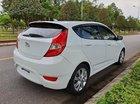 Cần bán gấp Hyundai Accent AT năm sản xuất 2014, màu trắng, hộp số nguyên bản, nội thất da