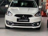 Cần bán Mitsubishi Mirage CVT sản xuất 2019, màu trắng, xe nhập, giá 450.5tr