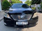 Bán Lexus LS 460L năm sản xuất 2007, màu đen, xe nhập