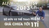XE NGON GIÁ TỐT   Xe thể thao hiếm Alfa Romeo 159 đời 2013 giá chưa tới 1 tỉ. 0