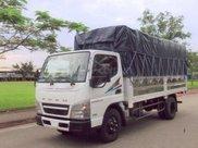 Cần bán xe tải Fuso Canter4.99 thùng mui bạt, thùng kín, thùng lửng0