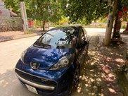Cần bán gấp Peugeot 107 đời 2012, màu xanh lam, xe nhập còn mới0