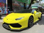 Bán Lamborghini Huracan LP 610-4 năm 2015, màu vàng, xe nhập0