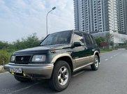 Cần bán lại xe Suzuki Grand vitara đăng ký 2005, màu xanh lục xe gia đình giá chỉ 175 triệu đồng3