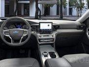 Ford Explorer 2021 màu trắng mới nhất, nhận cọc xe ngay trong tháng 3 để nhận ưu đãi1