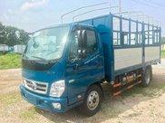 Thaco Phan Thiết - Bình Thuận bán xe tải Thaco OLLIN700 thùng mui bạt, năm sản xuất 20210