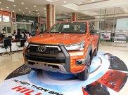 Toyota Hilux 2021 628tr, khuyến mãi full quà góp 85%3