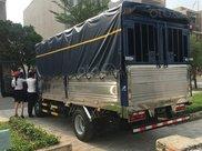 Xe tải JAC N200 cabin vuông 2t thùng dài 4,3m vào thành phố, KM bảo hiểm thân xe1