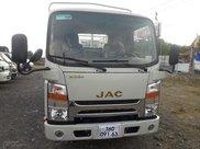 Xe tải JAC N350 3T5 thùng dài 4,3m, động cơ Isuzu cabin vuông, trả trước 100tr nhận xe0