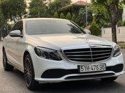 Chính chủ bán Mercedes C200 Exclusive năm 2020, màu trắng còn mới0