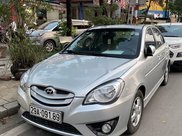 Bán Hyundai Verna đời 2010, màu bạc xe gia đình1
