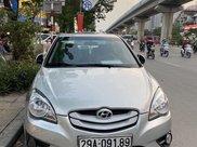 Bán Hyundai Verna đời 2010, màu bạc xe gia đình0