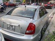 Bán Hyundai Verna đời 2010, màu bạc xe gia đình8