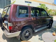 Bán Isuzu Trooper sản xuất 2001, màu đỏ, xe nhập5