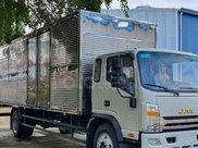 Cần bán xe JAC N800 thùng hàng dài 7.6 mét, đời 2021, màu trắng, trả trước 200 triệu0