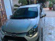 Bán Toyota Wigo đời 2018, màu bạc, nhập khẩu nguyên chiếc số tự động, giá 345tr0