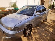 Xe Hyundai Accent sản xuất 1995, màu bạc, nhập khẩu 0