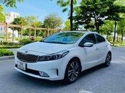 Bán Kia Cerato 1.6AT sx 2017 màu trắng1