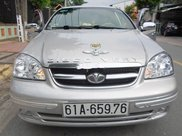 Bán xe Daewoo Lacetti đời 2009, màu bạc, nhập khẩu 0